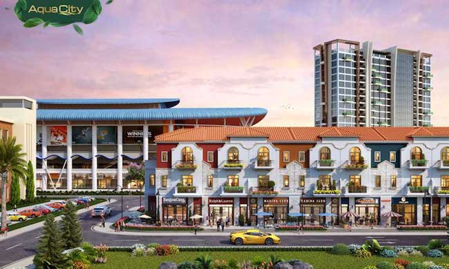 Shophouse Aqua City Novaland