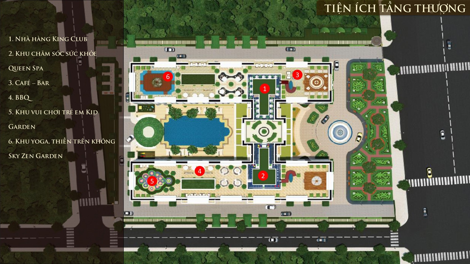 Mặt bằng tầng Dream Home Palace