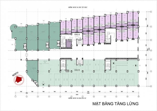 Mặt bằng tầng Bee Home